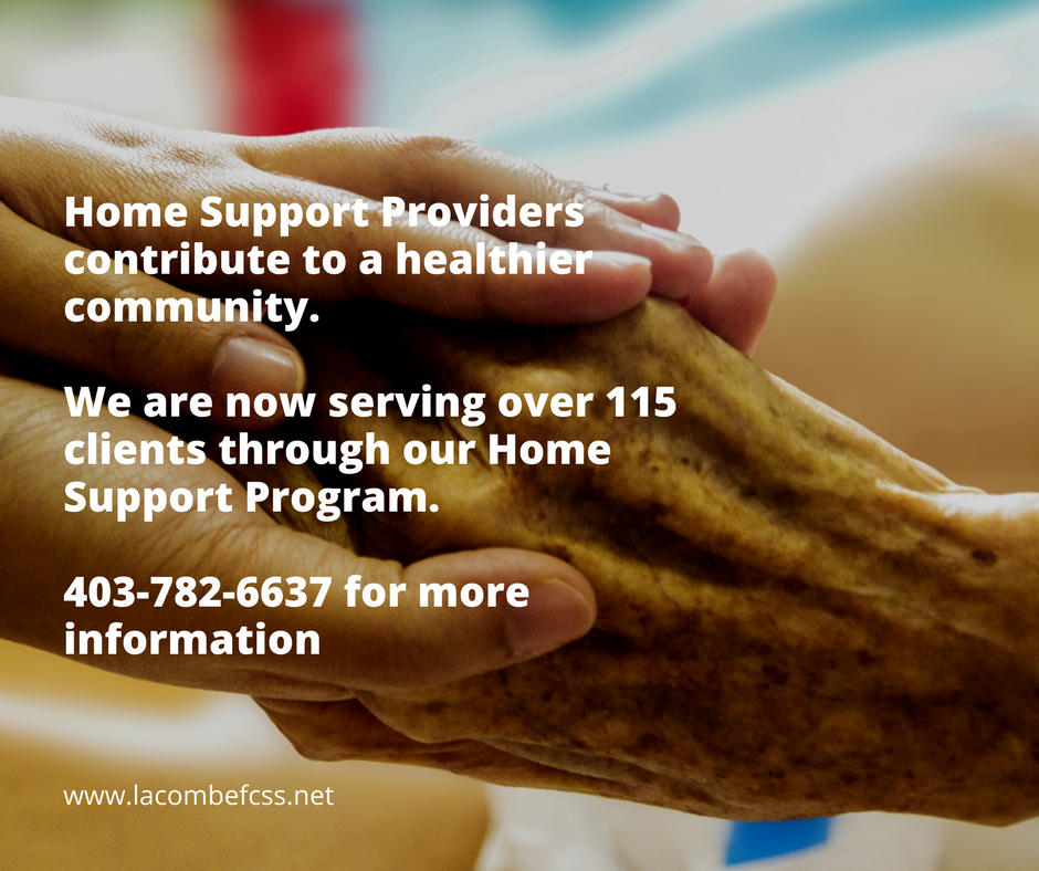 Home Support ProvidersRecognize that you are a care giver and you contribute to a healthier community. We are now serving over 115 clients through our Home Support Program..png